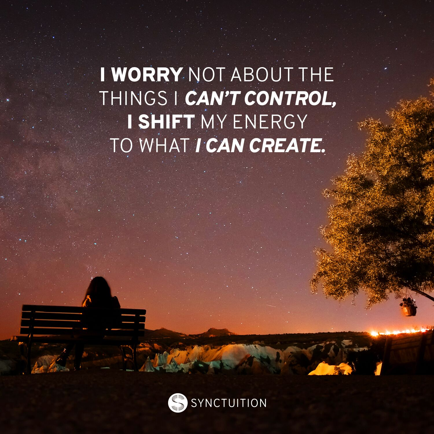 Quote on control and creation