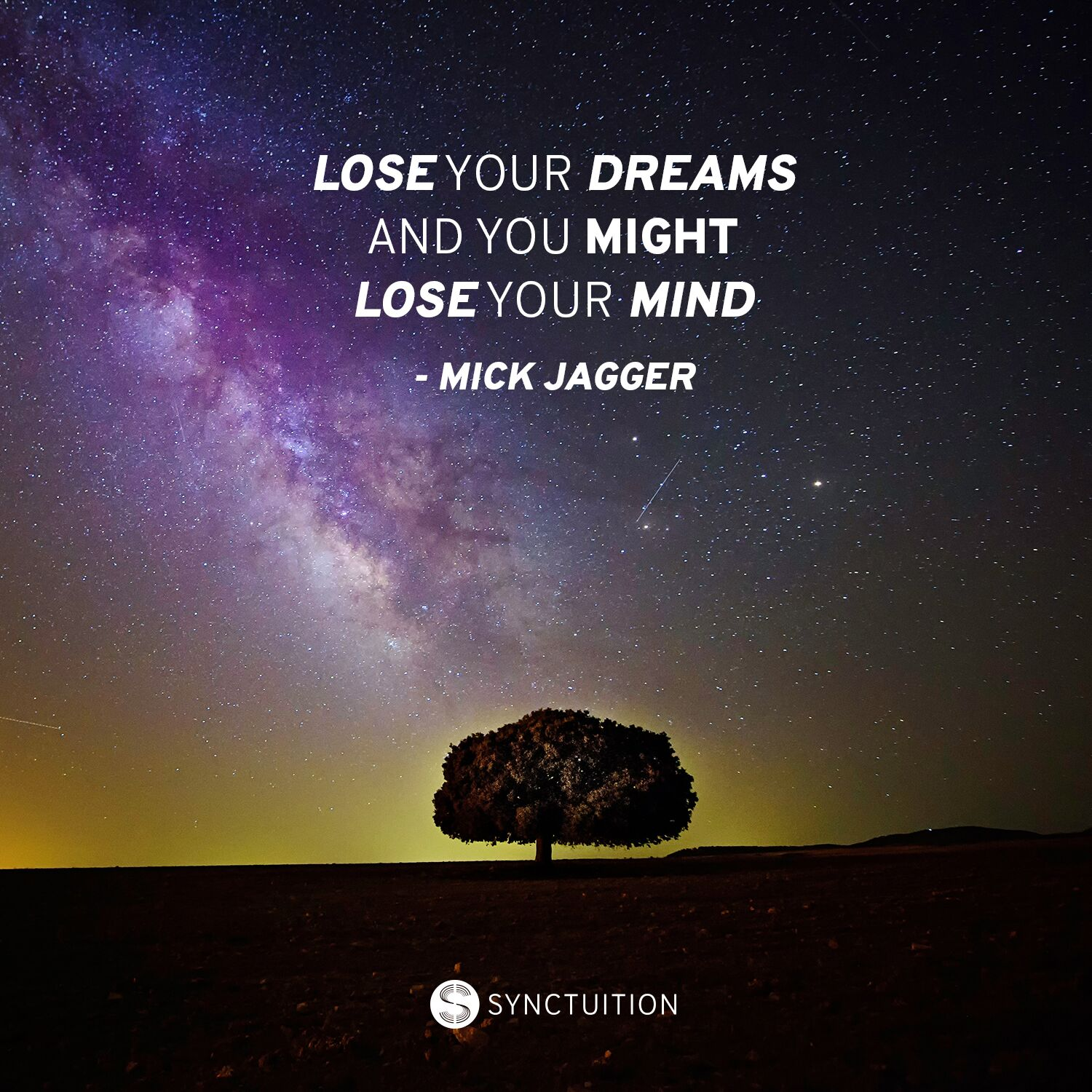 Quote on dreams by Mick Jagger