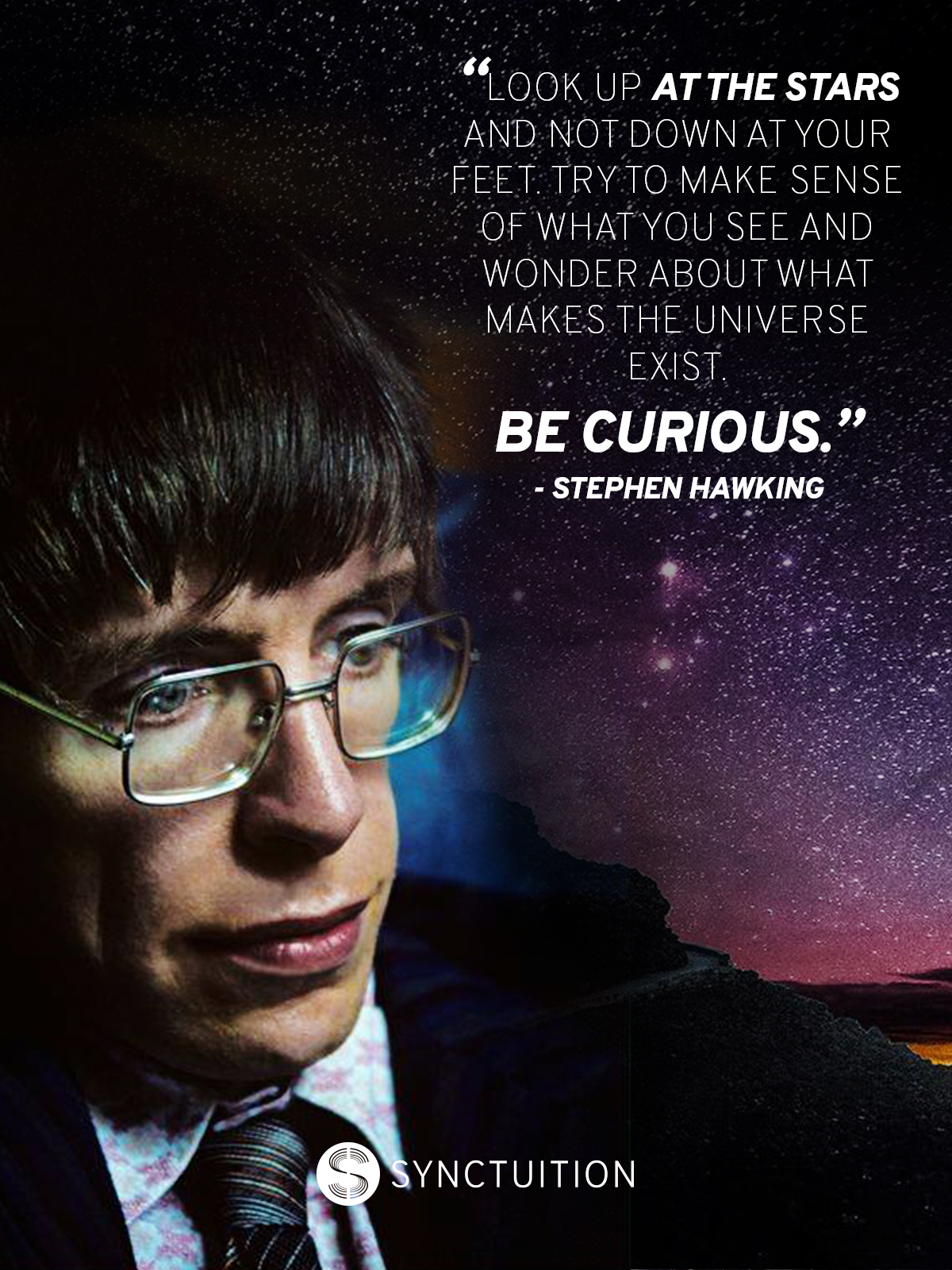 Stephan Hawking quote: