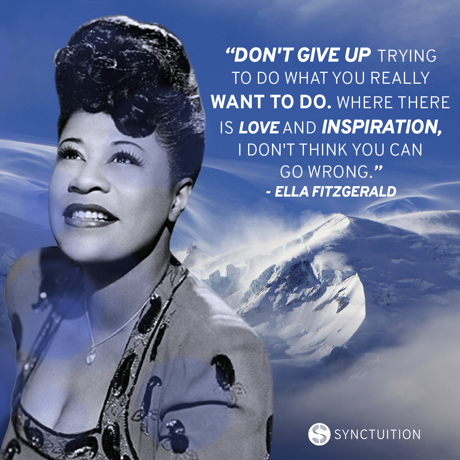 Ella Fitzgerald quote: