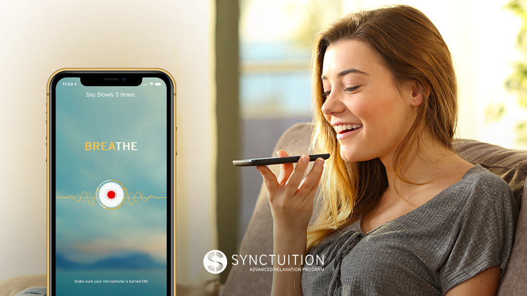 Record your voice to make the Synctuition experience even more enjoyable!