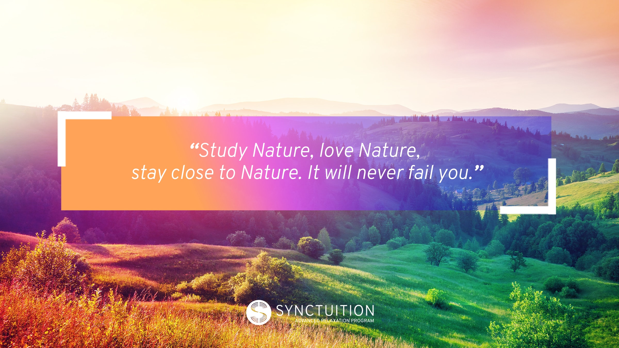 Nature sounds are excellent for our spiritual and mental wellbeing.