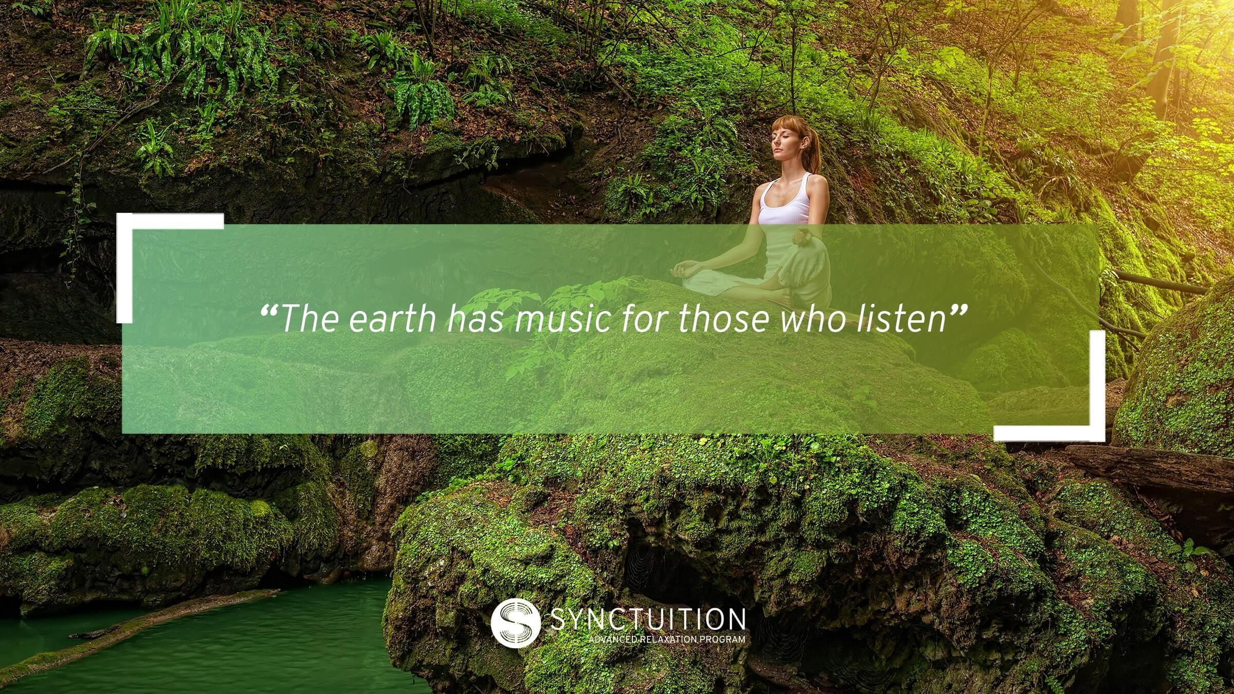 Synctuition's sound engineers recorded the most relaxing and beautiful nature sounds all over the world.