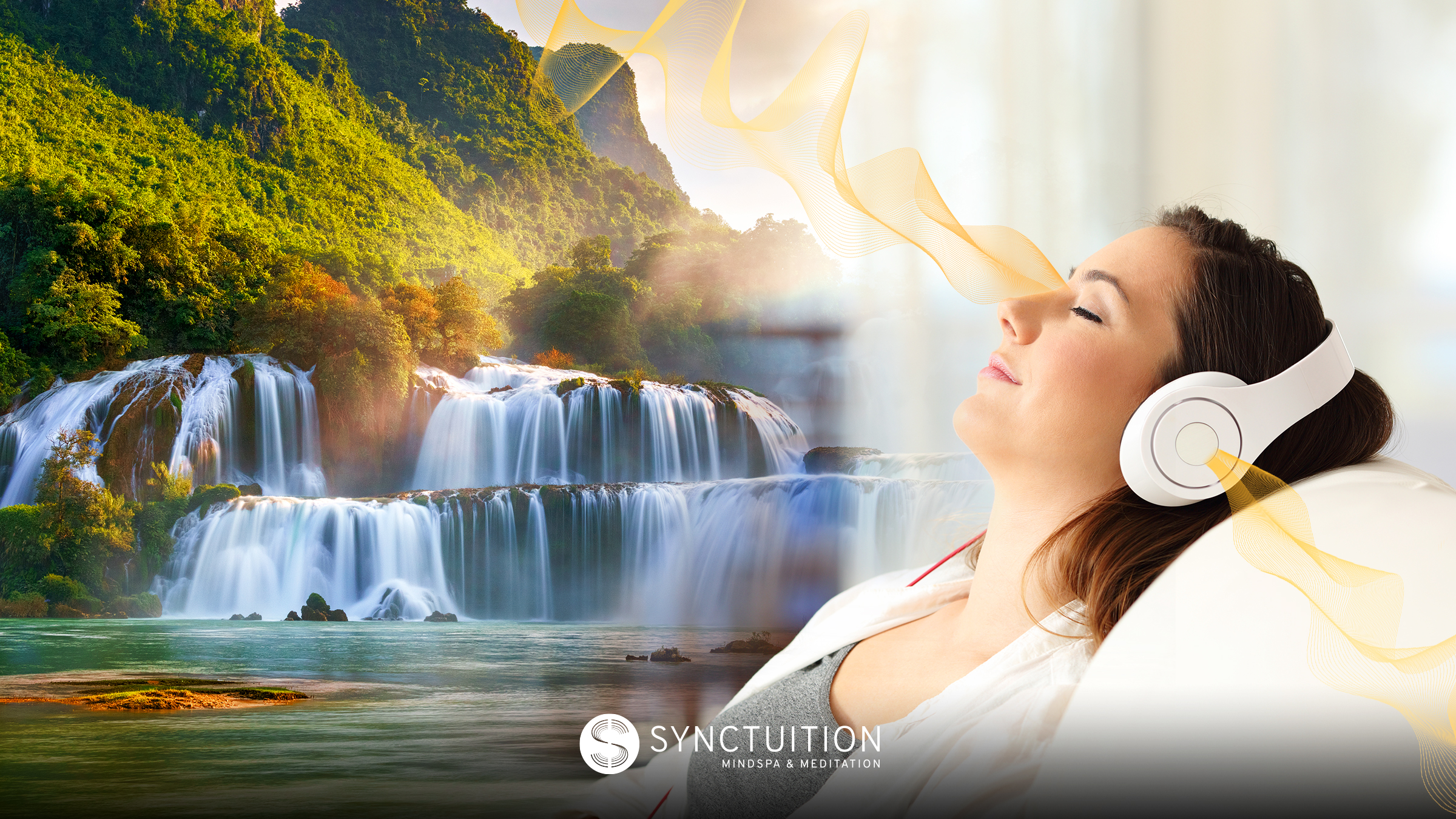 Listen to Synctuition as part of your sleep hygiene routine.