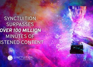 Synctuition's sound journey suprass 100 million views.