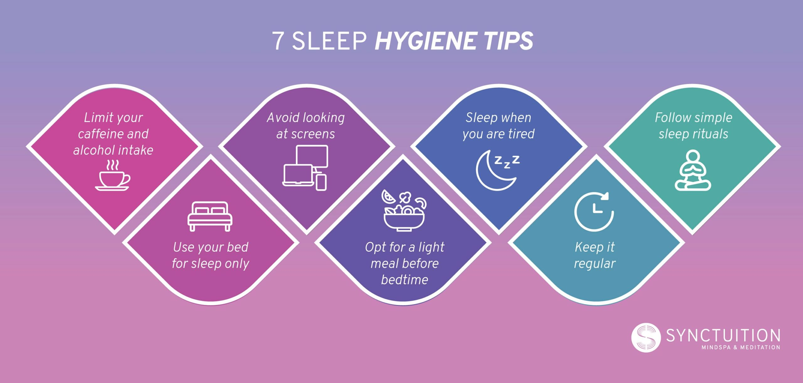 7 useful sleep hygiene tips for better nights and mornings