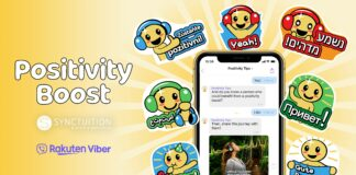 Get a positivity boost with Viber and Synctuition