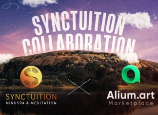 We partner with Alium art to release and NFT audio journey.